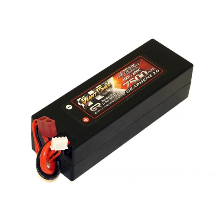 Аккумулятор Giant Power G2 0 Li-Pol 7500mAh 11 1V 3S 100C Hardcase  38x46x139 T-Plug