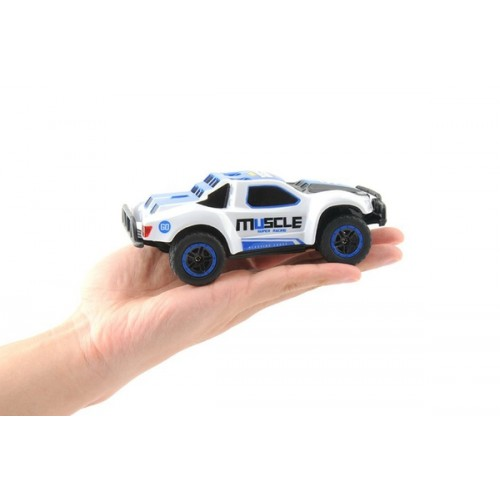 Машинка микро р/у 1:43 HB Toys Muscle полноприводная (синий)