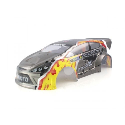 1:10 Himoto Off Road Rally E10XR Body Grey 1P