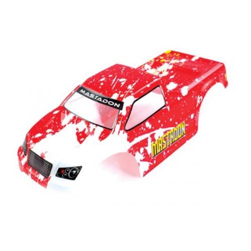 1:18 Truck Body Red