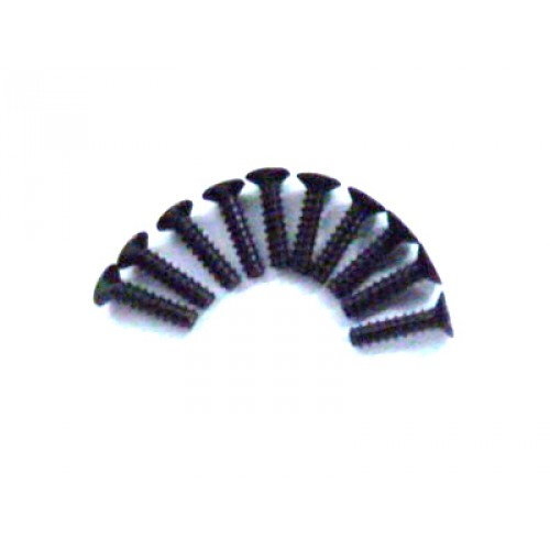 3*12 Flat Head Screws 10P