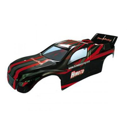 31501 1:10 Truggy Car Body Red 1P