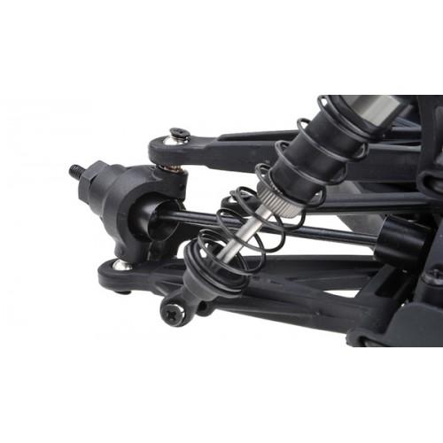 Шорт 1:10 Himoto Spatha E10SC Brushed (черный)