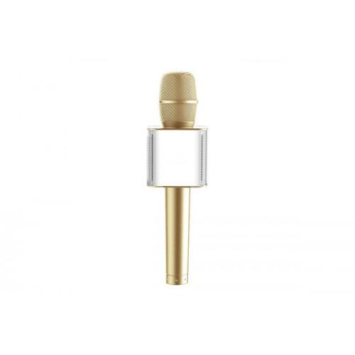 Микрофон для караоке Q9 (золотой)