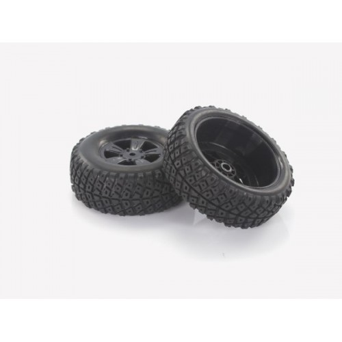 28669 1:18 Desert Buggy Tires Rims 2P