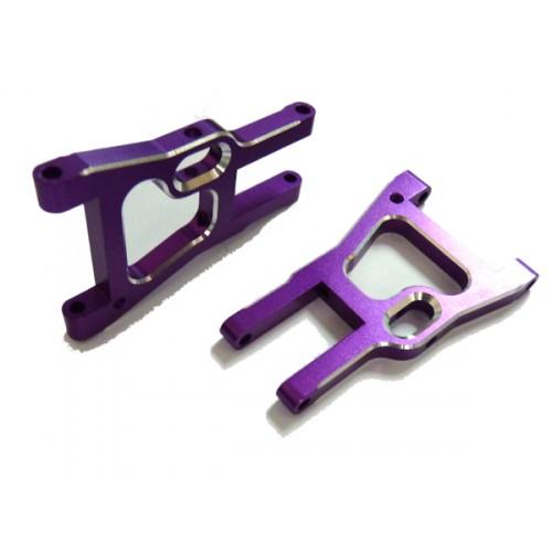 (02161) Purple Alum Front Lower Arm 2P
